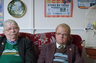 Toby Jones as 'Neil Baldwin' and Neil Baldwin as 'Himself'